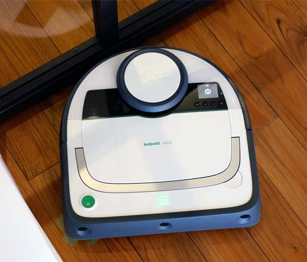 ロボット掃除機 コーボルト VR200 を スマホアプリ 対応にアップデート