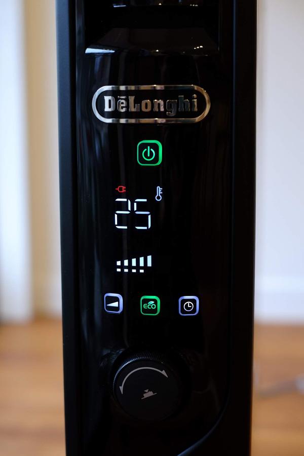 リビング の 暖房 デロンギ の マルチダイナミックヒーター は エコモード 搭載